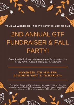 Georgia Transplant Foundation Fundraiser
